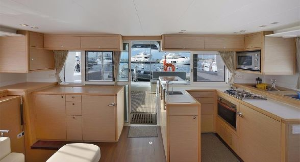 Preowned Sail Catamarans for Sale 2011 Lagoon 450 Galley