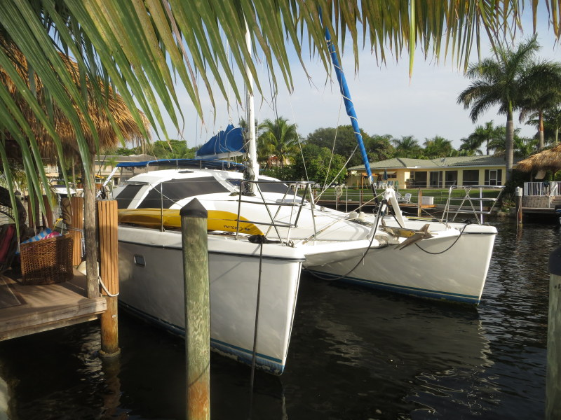 Preowned Sail Catamarans for Sale 1997 Privilege 37 Boat Highlights