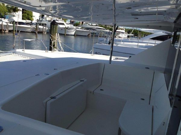 Used Sail Catamaran for Sale 2013 Leopard 44 owners version Deck & Equipment