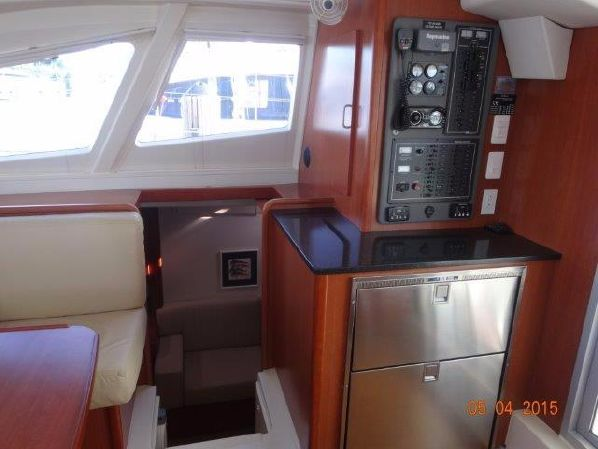 Used Sail Catamaran for Sale 2013 Leopard 44 owners version Layout & Accommodations