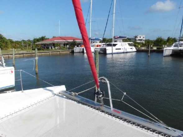 Used Sail Catamaran for Sale 2011 Leopard 38 Sails & Rigging