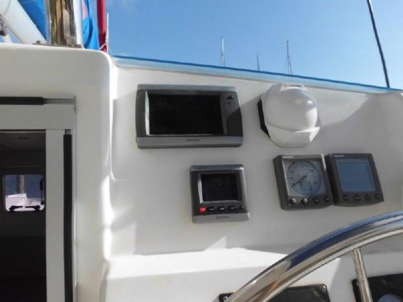 Used Sail Catamaran for Sale 2011 Leopard 38 Electronics & Navigation