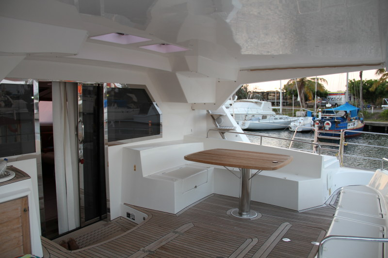 Preowned Sail Catamarans for Sale 2010 Privilege 615 Deck & Equipment