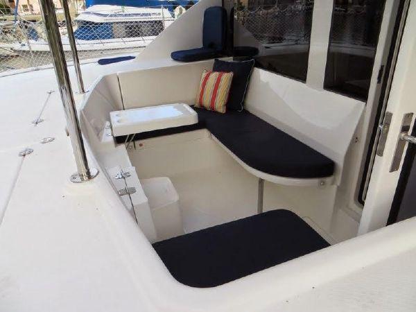 Preowned Sail Catamarans for Sale 2014 Leopard 44 Deck & Equipment