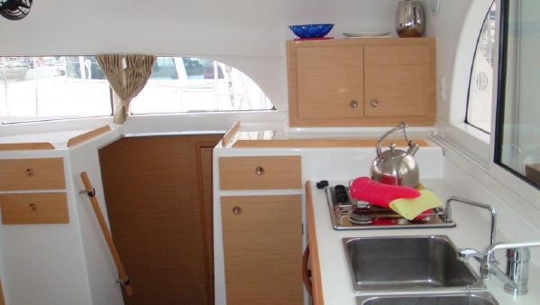 Preowned Sail Catamarans for Sale 2008 Lagoon 380 Galley
