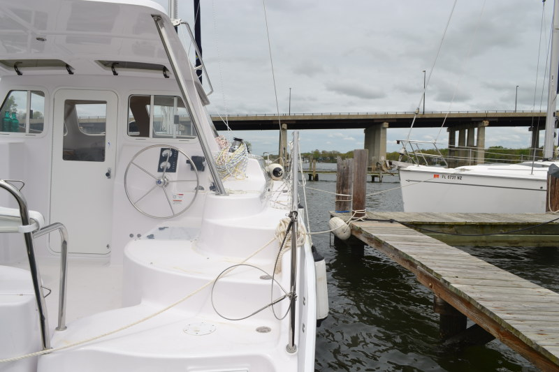 New Sail Catamaran for Sale 2015 Legacy 35 Deck & Equipment