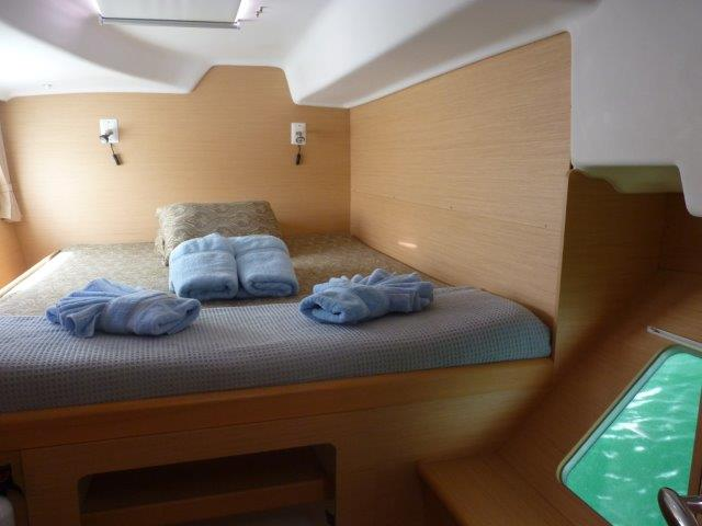 Preowned Sail Catamarans for Sale 2009 Lagoon 380 Layout & Accommodations