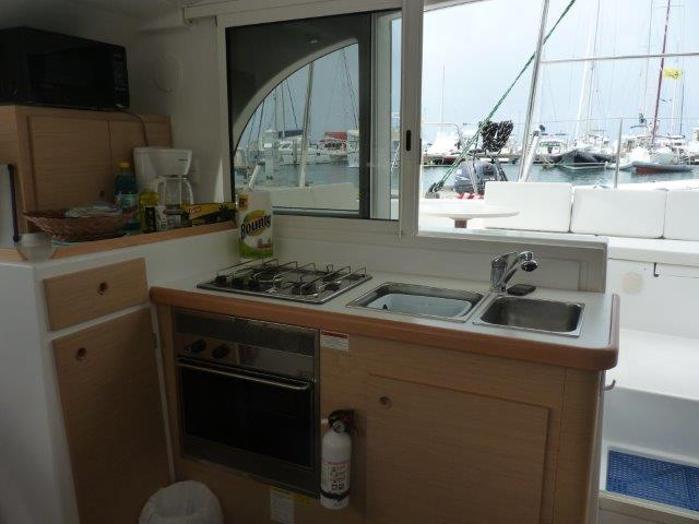 Preowned Sail Catamarans for Sale 2009 Lagoon 380 Galley