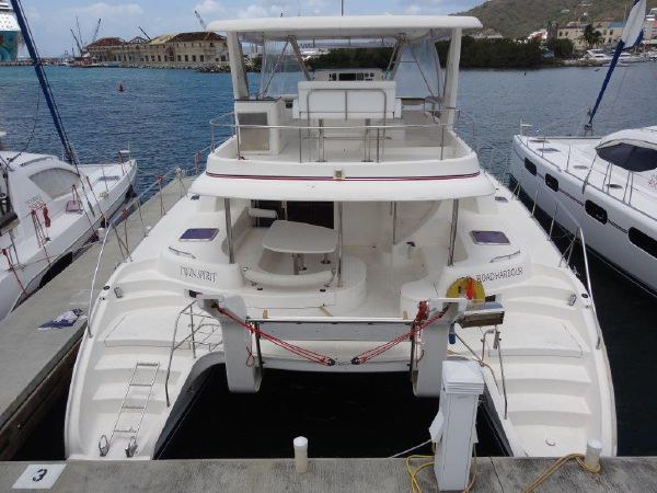 Preowned Power Catamarans for Sale 2008 Leopard 47 PC  Boat Highlights