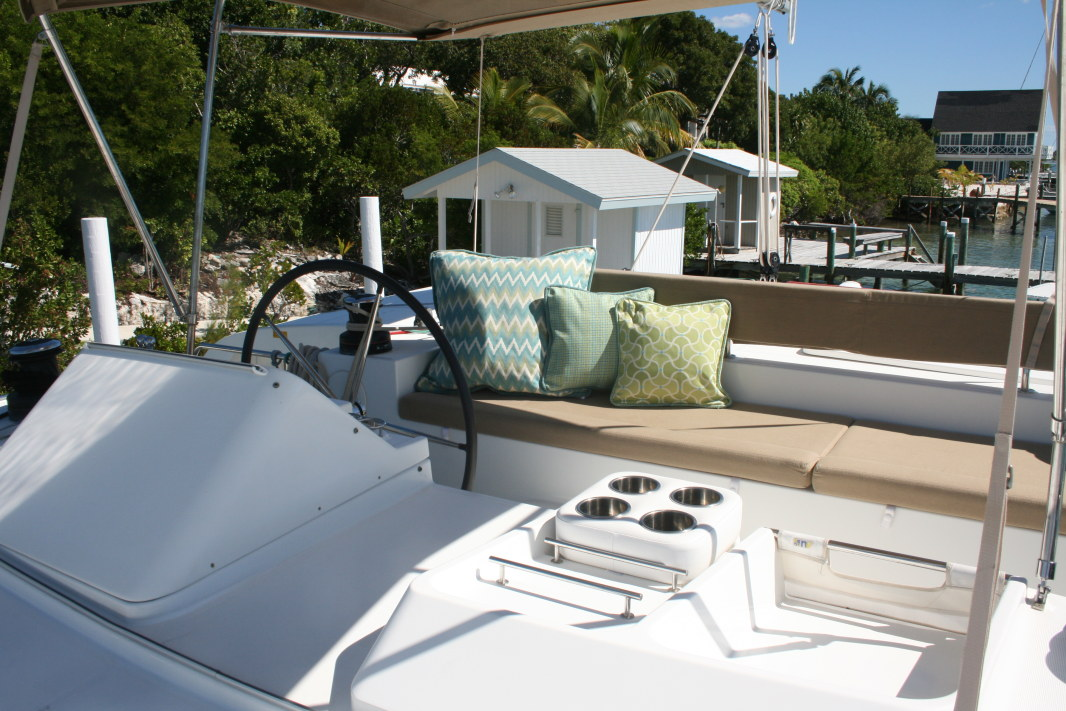 Preowned Sail Catamarans for Sale 2012 Lagoon 450 Deck & Equipment