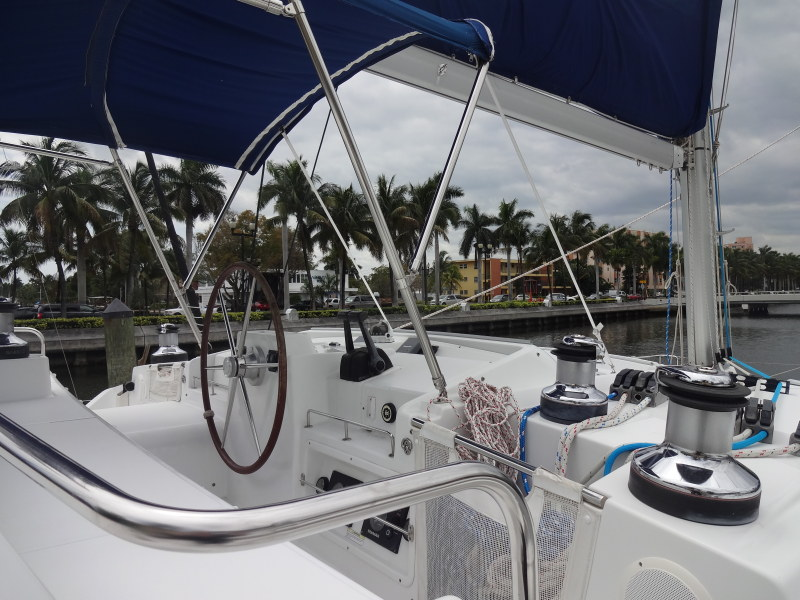 Used Sail Catamaran for Sale 2007 Lagoon 440 Electronics & Navigation
