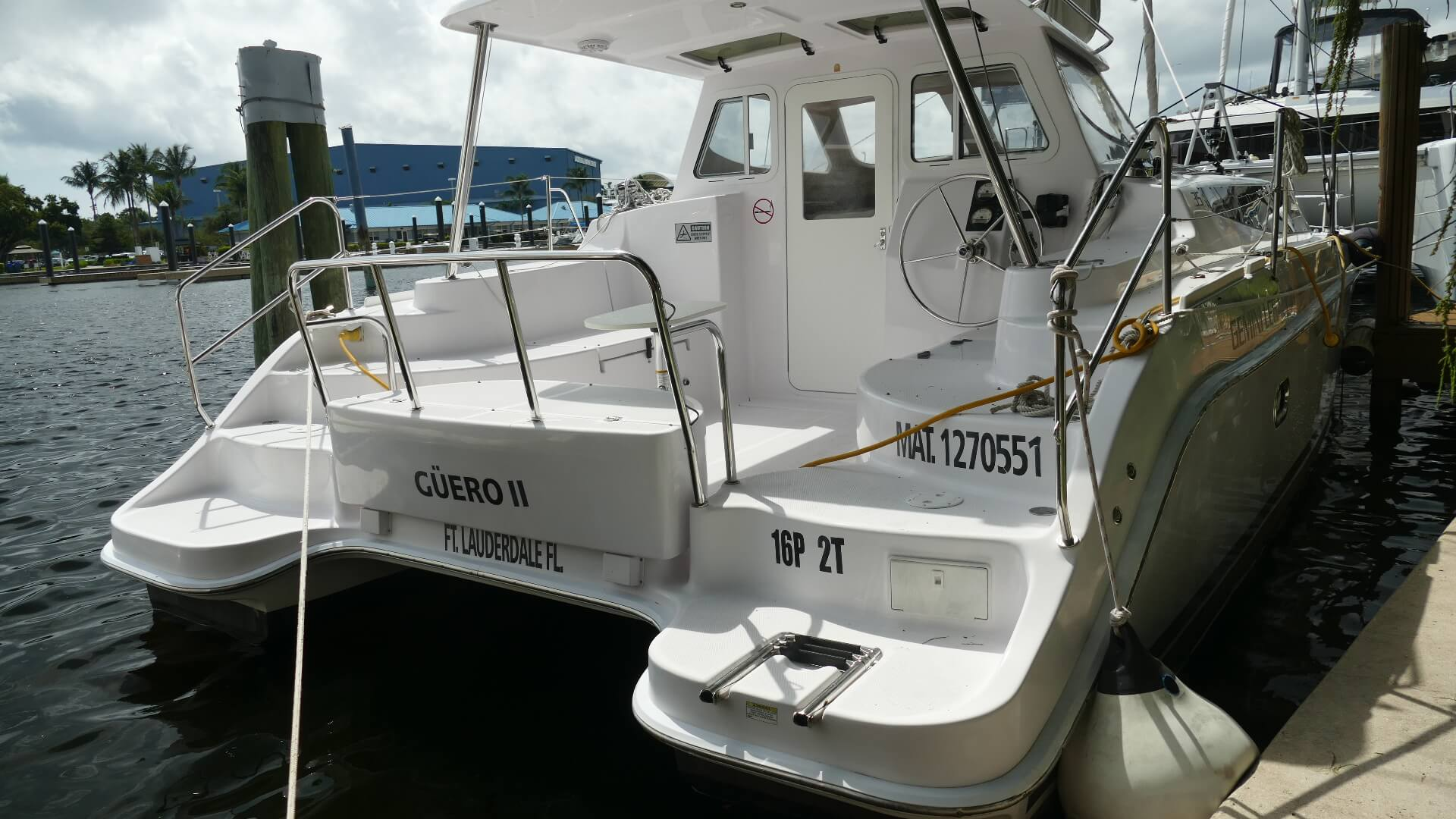 Used Sail Catamarans for Sale 2016 Legacy 35 Boat Highlights