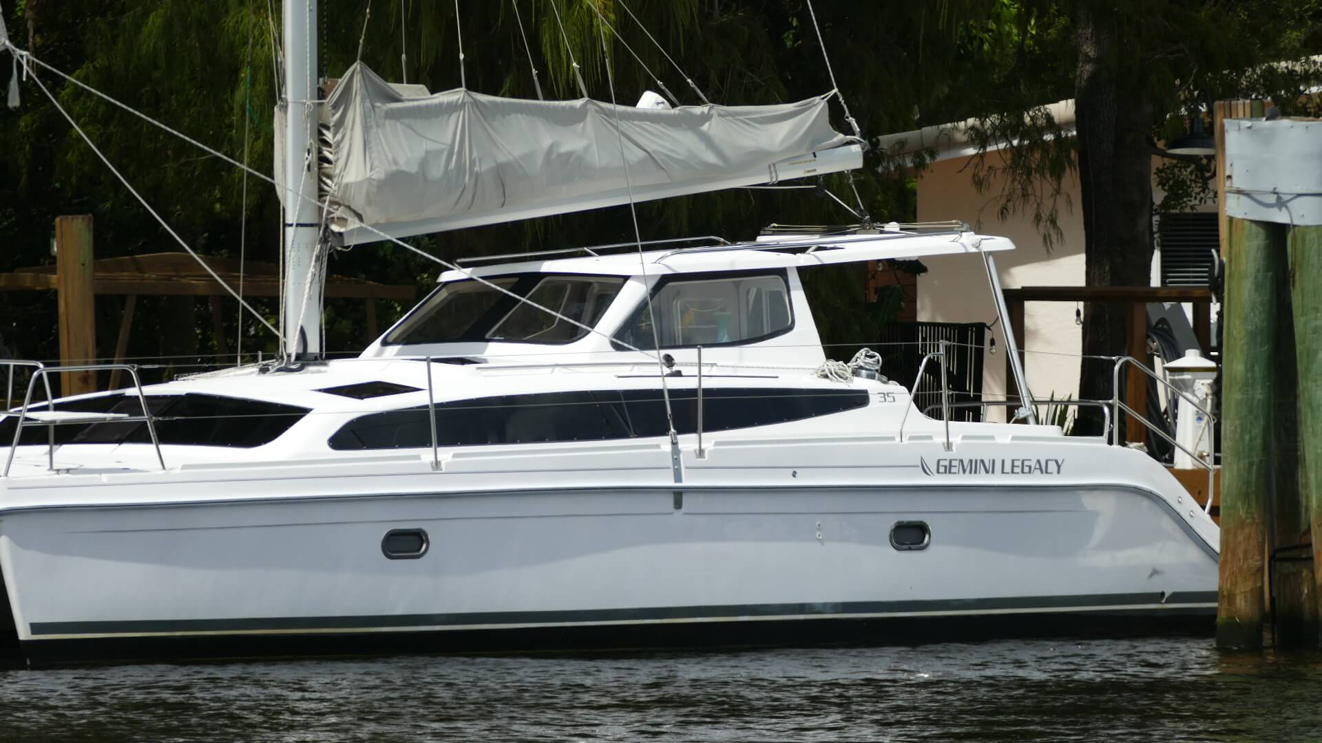 Used Sail Catamaran for Sale 2016 Legacy 35 Boat Highlights
