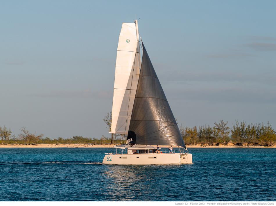 New Sail Catamaran for Sale 2016 Lagoon 52 F Boat Highlights