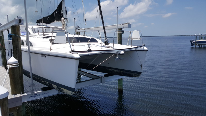 Used Sail Catamaran for Sale 2007 Gemini 105Mc Boat Highlights