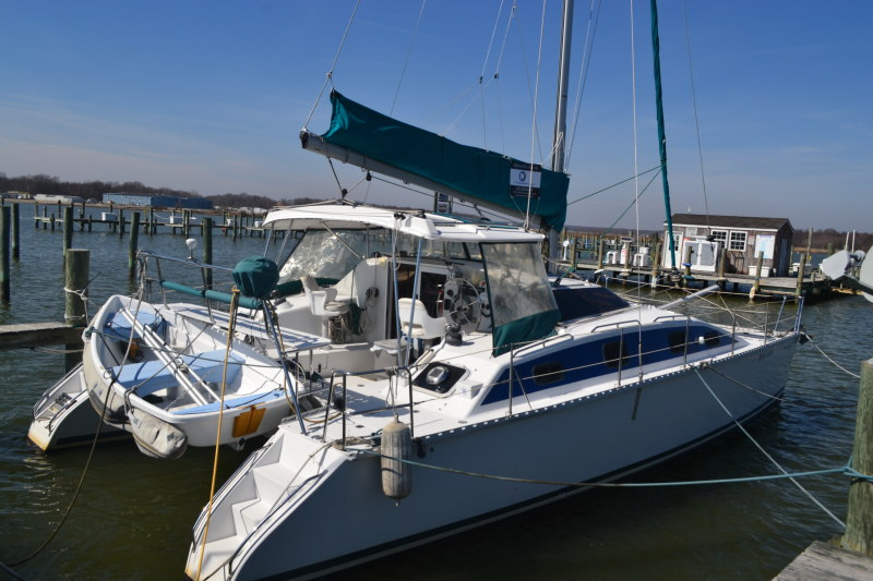 Preowned Sail Catamarans for Sale 2003 PDQ 36 Capella Classic
