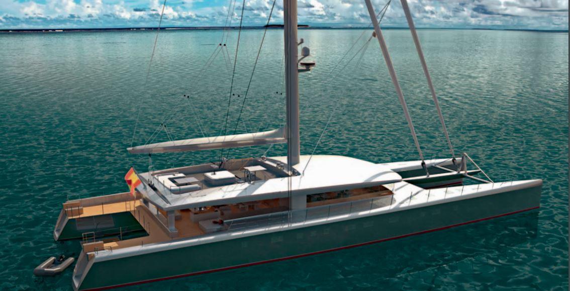 Custom Sail Catamaran for Sale  Van Peteghem - Lauriot Prevost 146 Custom