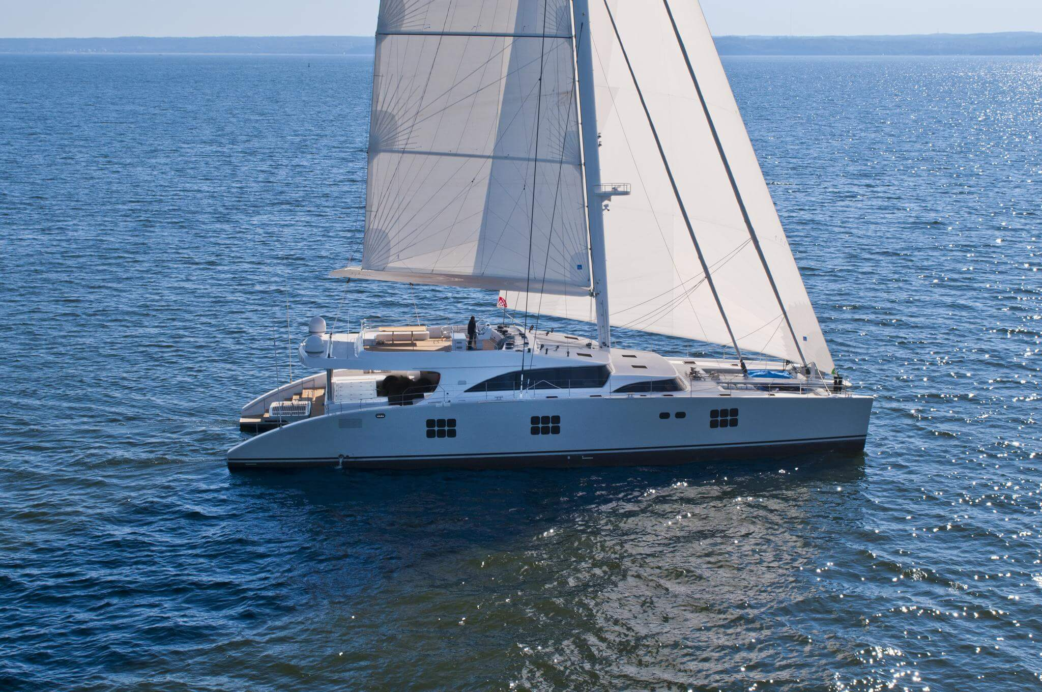 Launched Sail Catamaran for Sale 2009 Sunreef 102 Boat Highlights