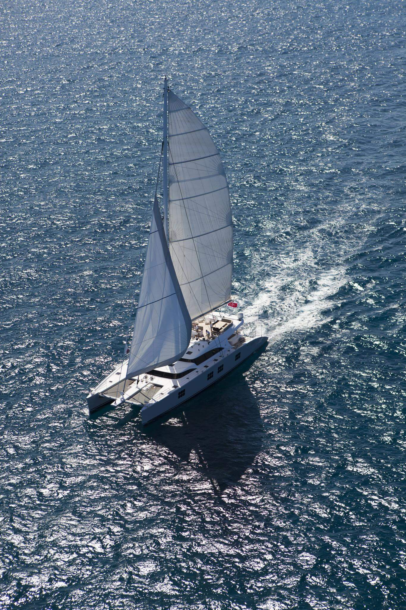 Launched Sail Catamaran for Sale  Sunreef 102 DD Boat Highlights