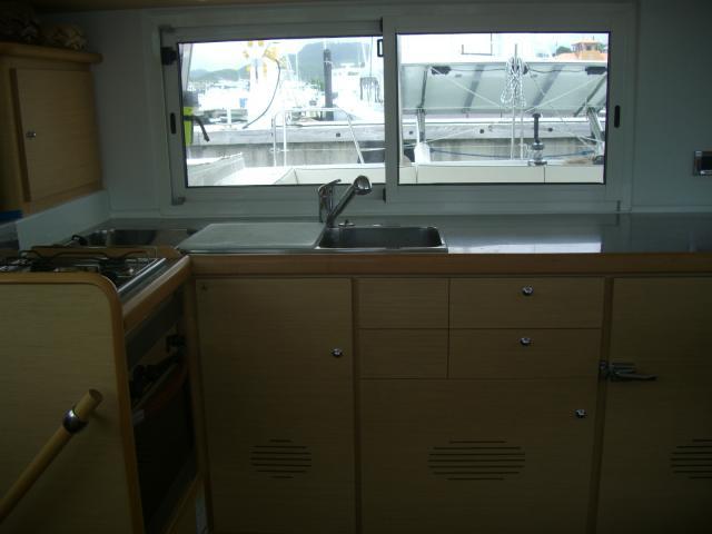 Preowned Sail Catamarans for Sale 2008 Lagoon 440 Galley