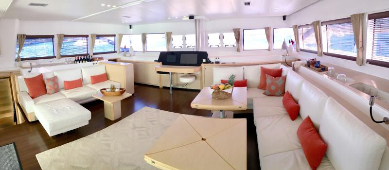 Used Sail Catamaran for Sale 2010 Lagoon 620  Layout & Accommodations