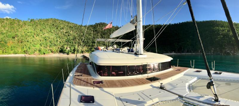 Used Sail Catamaran for Sale 2010 Lagoon 620  Deck & Equipment