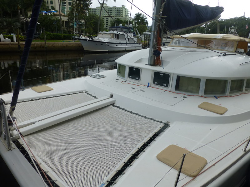 Preowned Sail Catamarans for Sale 2002 Lagoon 380 Deck & Equipment