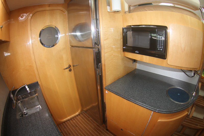 Preowned Sail Catamarans for Sale 2005 Privilege 495 Prestige-Owner's Version Galley