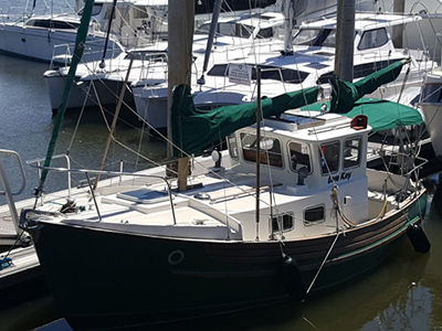 Preowned Sail Catamarans for Sale 1979 Pilot House 25