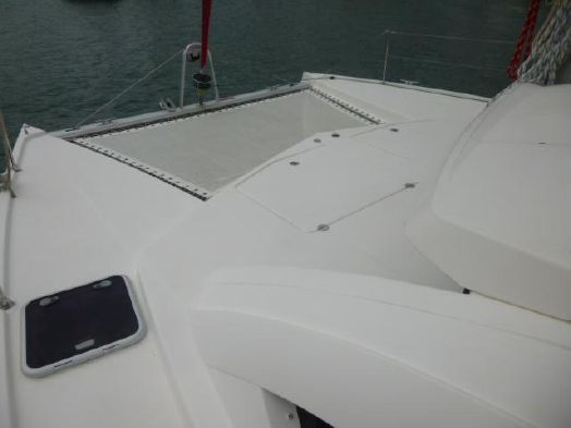 Used Sail Catamaran for Sale 2011 Leopard 38 Deck & Equipment