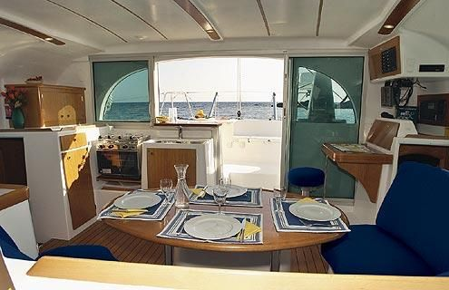 Used Sail Catamaran for Sale 2003 Lagoon 380 Galley