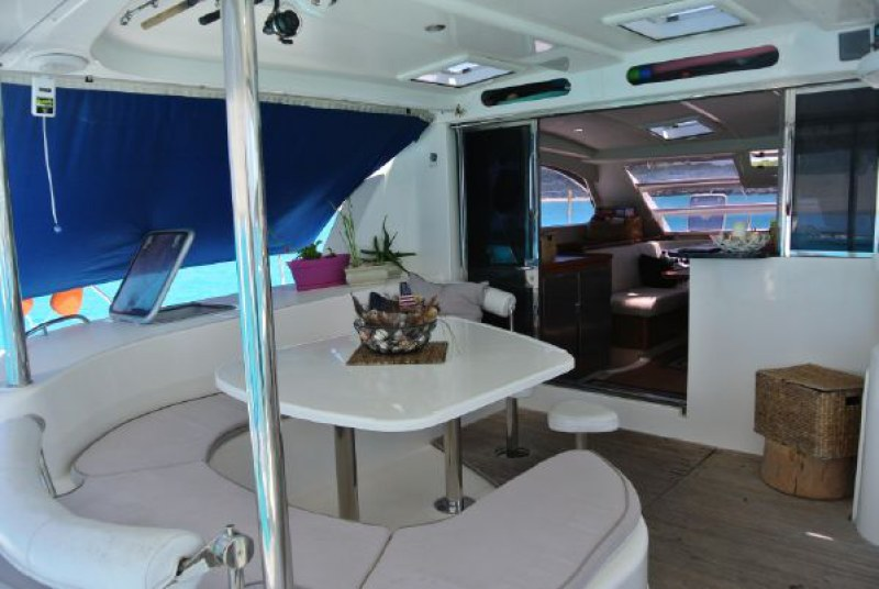 Preowned Sail Catamarans for Sale 2006 Leopard 46  Deck & Equipment