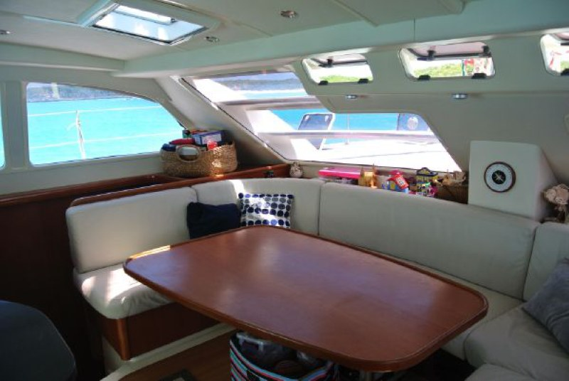 Preowned Sail Catamarans for Sale 2006 Leopard 46  Layout & Accommodations