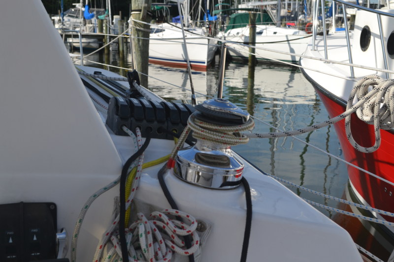 Preowned Sail Catamarans for Sale 2013 Legacy 35 Sails & Rigging