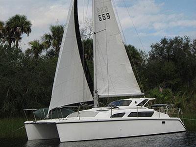 Preowned Sail Catamarans for Sale 1997 Gemini 105M