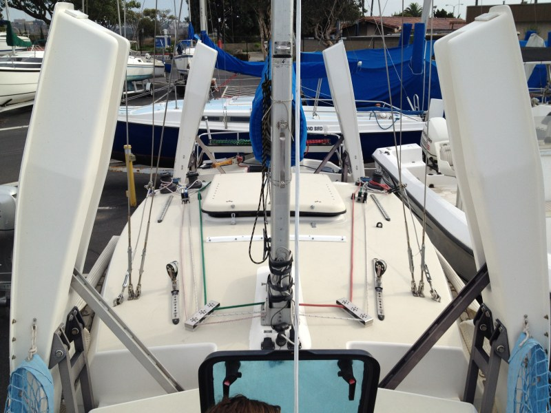 Preowned Sail Catamarans for Sale 1991 F27 Deck & Equipment