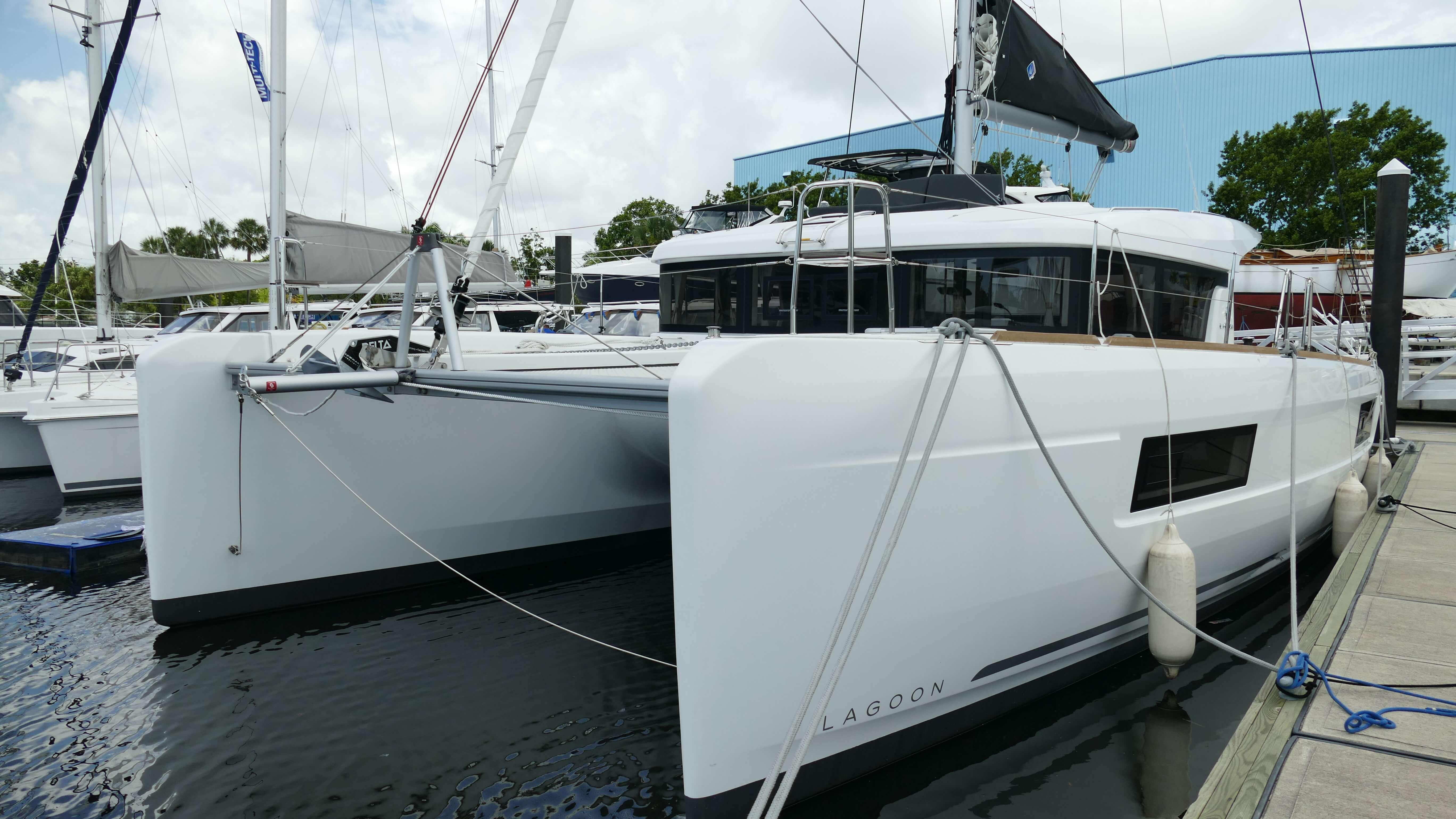 New Sail Catamaran for Sale 2018 Lagoon 40