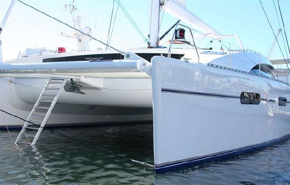 Preowned Sail Catamarans for Sale 2005 Matrix 76 Boat Highlights