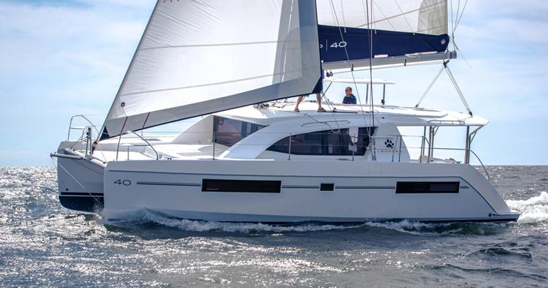 Used Sail Catamaran for Sale 2005 Leopard 40