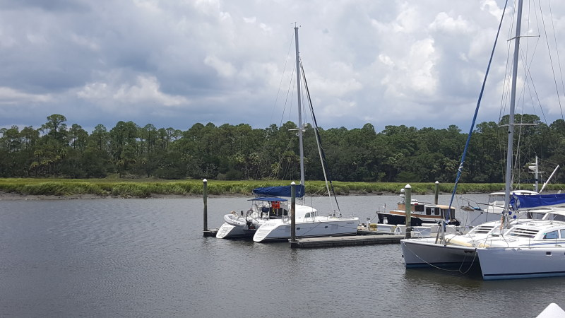 Preowned Sail Catamarans for Sale 2005 Lagoon 380 Boat Highlights