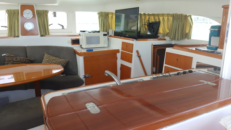 Used Sail Catamaran for Sale 2005 Lagoon 380 Layout & Accommodations