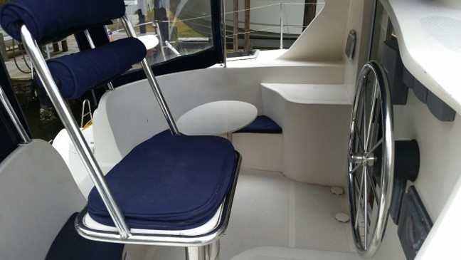 Used Sail Catamaran for Sale 2004 Wildcat 350 Mk3 Deck & Equipment