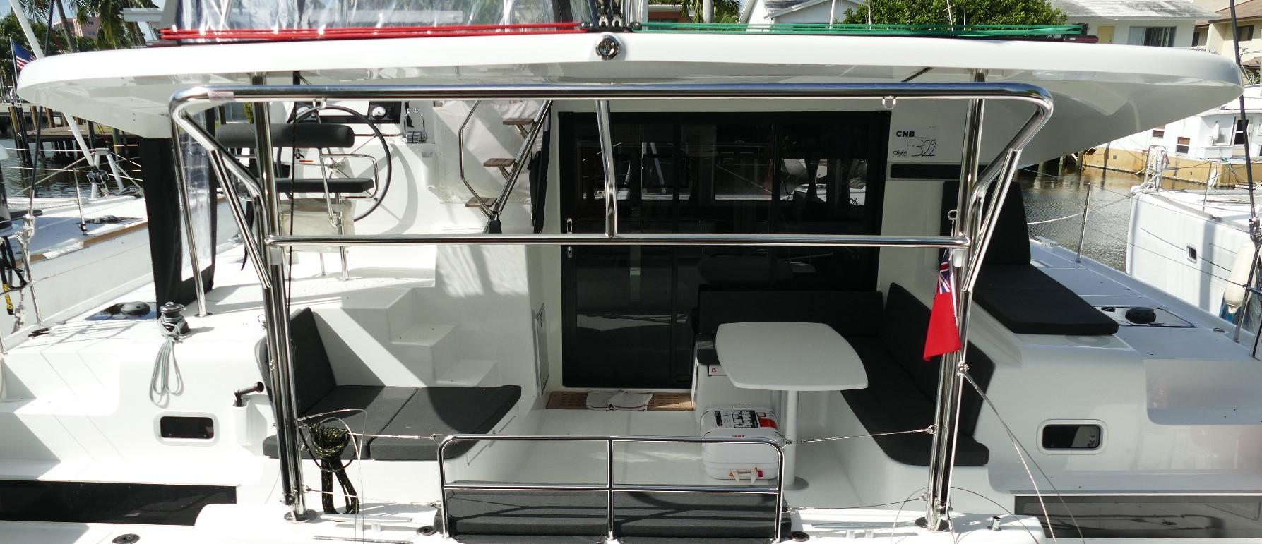 New Sail Catamarans for Sale 2019 Lagoon 42 Deck & Equipment