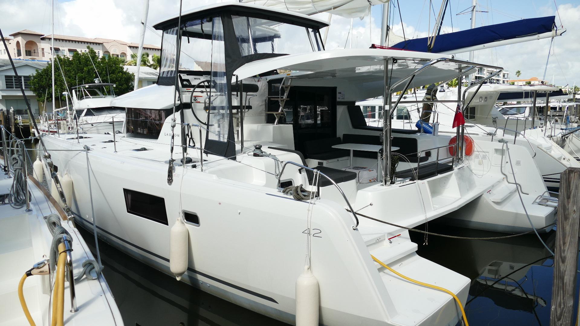 New Sail Catamarans for Sale 2019 Lagoon 42