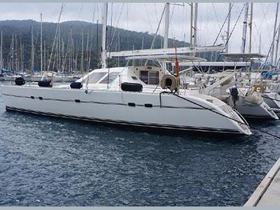 Used Sail Catamaran for Sale 1991 Lagoon 47