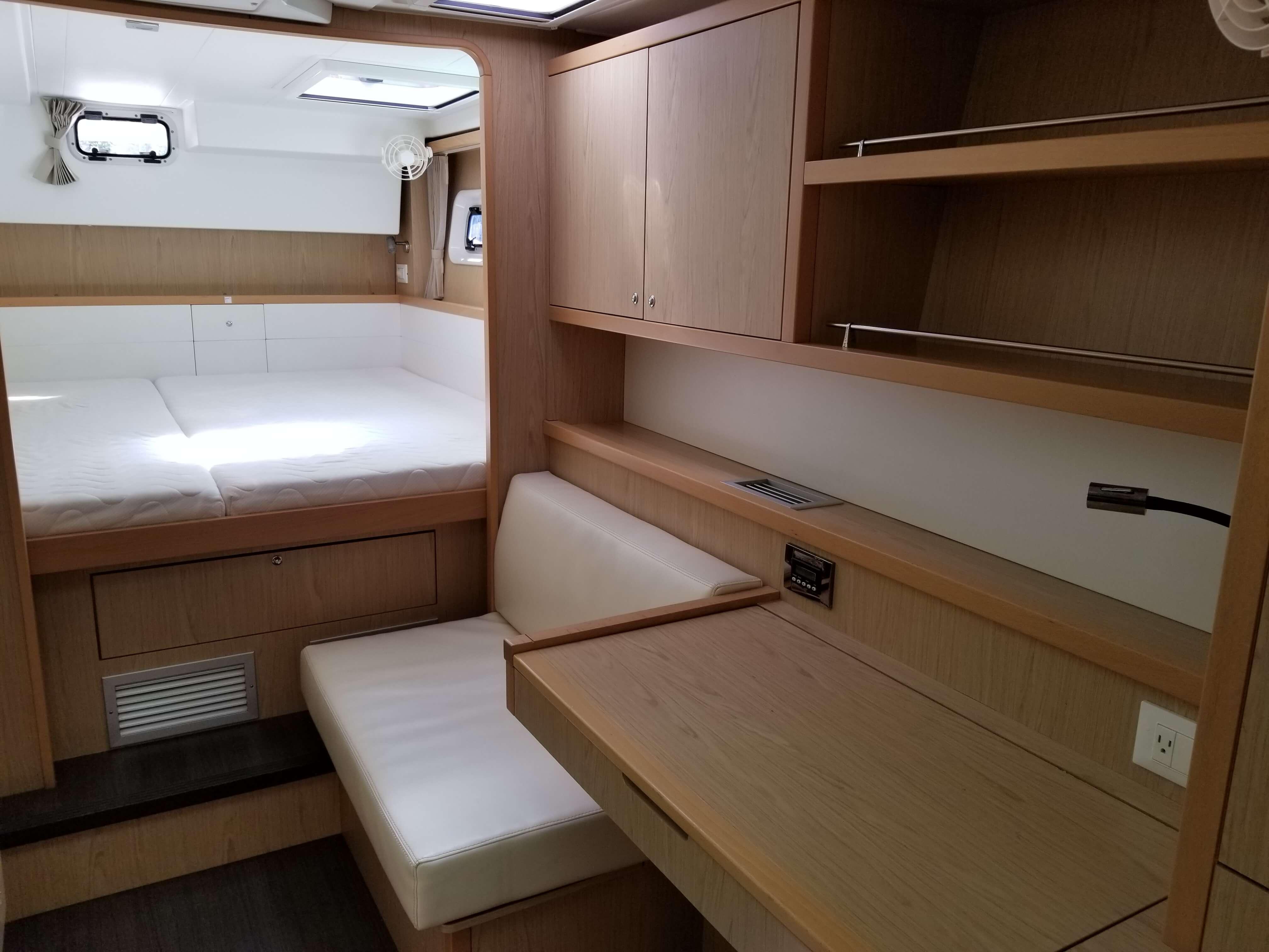 Used Sail Catamaran for Sale 2014 Lagoon 39 Layout & Accommodations