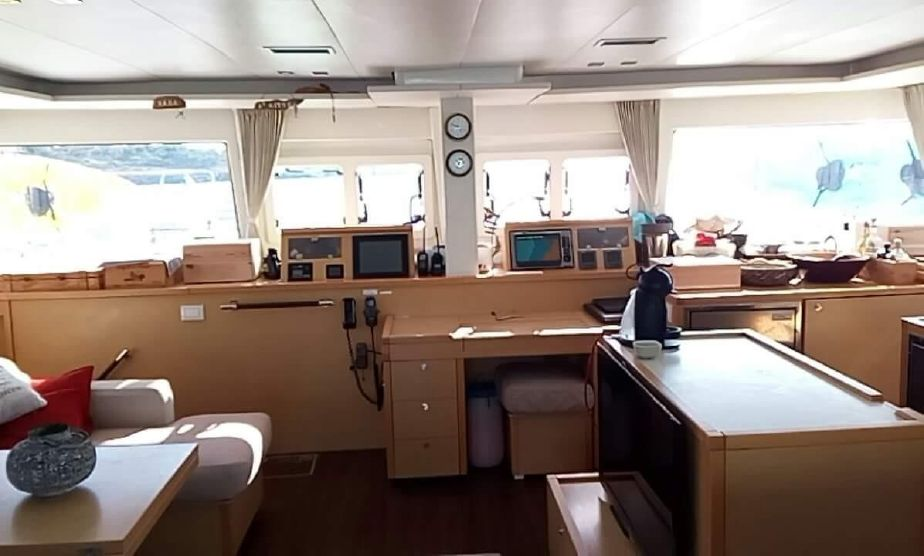 Used Sail Catamarans for Sale 2011 Lagoon 560 Electronics & Navigation