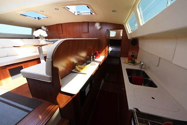 Preowned Sail Catamarans for Sale 2015 Legacy 35 Galley