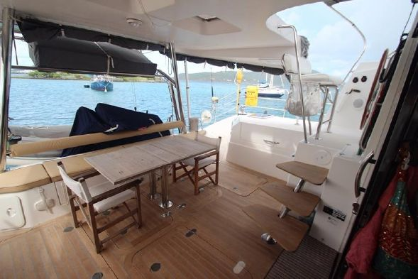 Preowned Sail Catamarans for Sale 2011 Privilege 515 Deck & Equipment