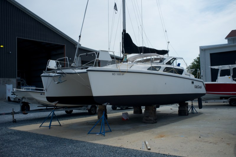 Preowned Sail Catamarans for Sale 2002 Gemini 105Mc Boat Highlights